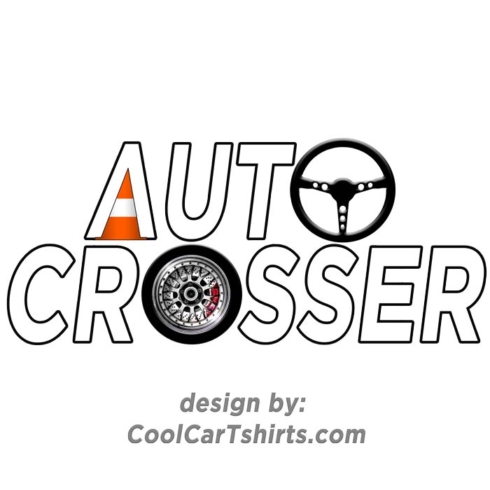 auto cross t-shirt